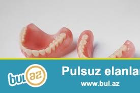 SA Dental klinikasinda diş texnikleri üçün kabinetlər var...