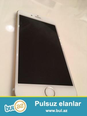 IPhone 6  Gold 64 GB. Heç bir problemi yoxdur, ideal vəziyyətdədir...