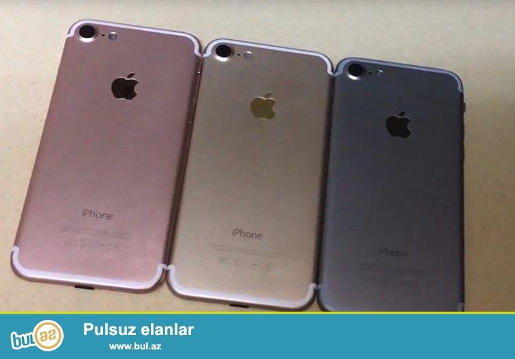 Iphone 7 Dubay versiyasi satilir, telefonlar upakofkada yenidir, rengleri var...