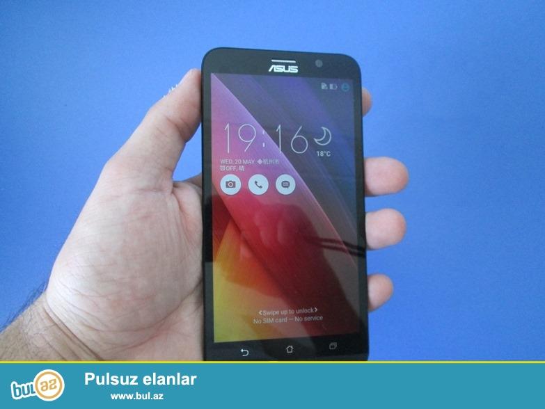 Dünyada səviyyəli brend Asus firmasından, təzə,yeni, istifadə olunmamış, işlənməmiş, nömrə taxılmamış, qutusunda smartfon Asus Zenfone 2 ZE551Ml satılır...