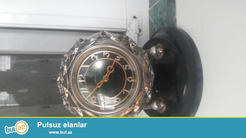 1965 ci ilin xrustal saati satilir qiymeti 550 manat son asagi 500 manat isteyen elaqe saxlasin
