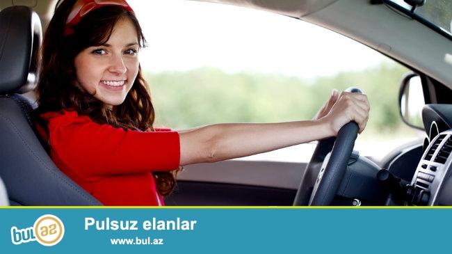 Xanimlar üçün sürücülük kursuna xanim surucu ( təlimçi)  tələb olunur...