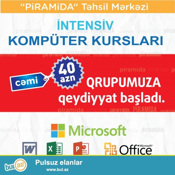 """Oktyabr ayının 18-i başlayacaq """"Microsoft Office paketi üzrə kompüter kursları"""" Qrupumuza qəbul başladı..."""