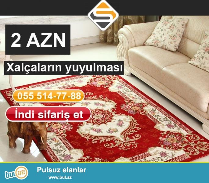 Hər növ fabrik istehsalı olan xalçaların yuyulması <br /> Ən sərfəli qiymətlər bizdə...