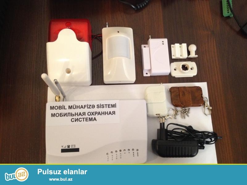 Mobil mühavizə sistemi<br />       Mobil mühavizə sistemi ilə siz öz ev, obyekt,qaraj,bağ və s...