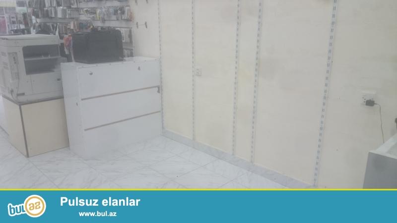 Baki Dövlət Universiteti Yanında  Mağaza daxilində şöbə İcarəyə verilir.