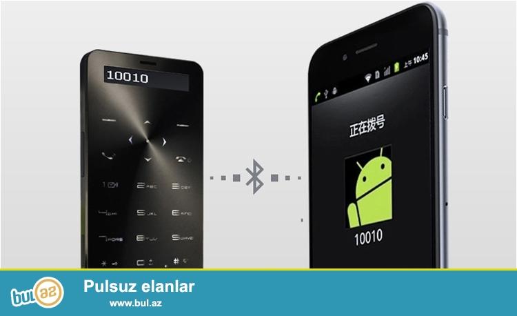 Yeni.Çatdırılma pulsuz<br /> Ultranazik powerbank telefon.Cüzdanınızda daşıya biləcəyiniz balaca telefon...