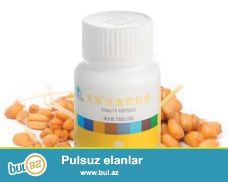 Buöda cücərtisinin yağından hazırlanmış veykanın təkibi E vitamini və beta-karotinlə zəngindir...