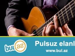 Qisa zaman erzinde gitarada istediyiniz mahnilari ifa ede bilersiz...
