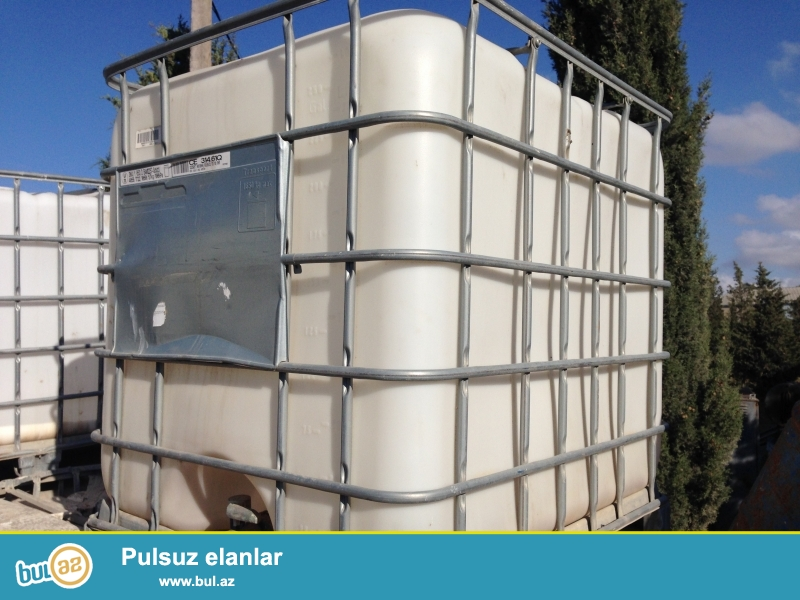 1 tonluq plastik su cenleri satilir tecili