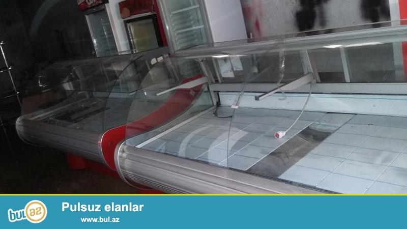 ULVI firmasiin 2 metrelik vitrin soyuducusu satilir...