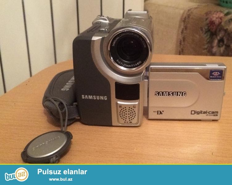 Samsung video kamera satiram. Yaxshi veziyyetdedir...