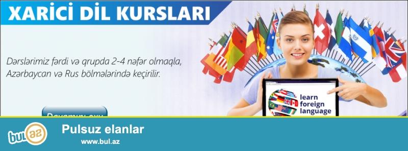 Kadr Kurs»ları sizə cəmi bir neçə ay ərzində müxtəlif xarici dilləri mükəmməl səviyyədə öyrənmək imkanı verir...
