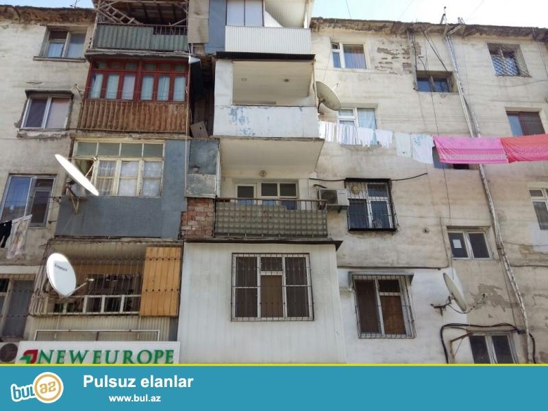 Продаётся  1 кoмнатная   квартира  в Ясамальском районе,  по пр...