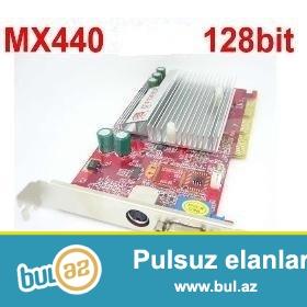 Videocart: GF440SE DDR1 64Mb. <br /> Videocart: ATI 9250 AGP8X DDR1 128Mb...