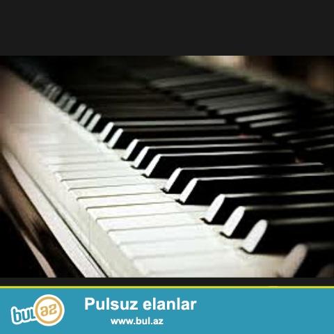 Musiqi aletlerin temiri ve Pianino köklenmesi