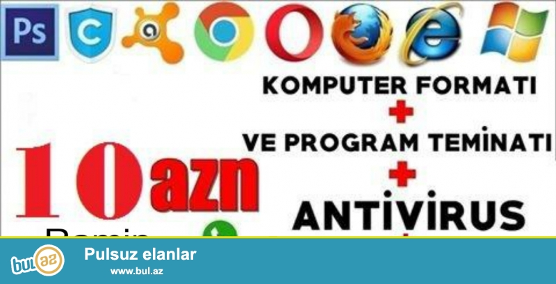 EVLERE OFISLEREDE GELIRIK WINDOWS/10 20AZN TEKCE WINDOWS/7 WINDOWS/8...