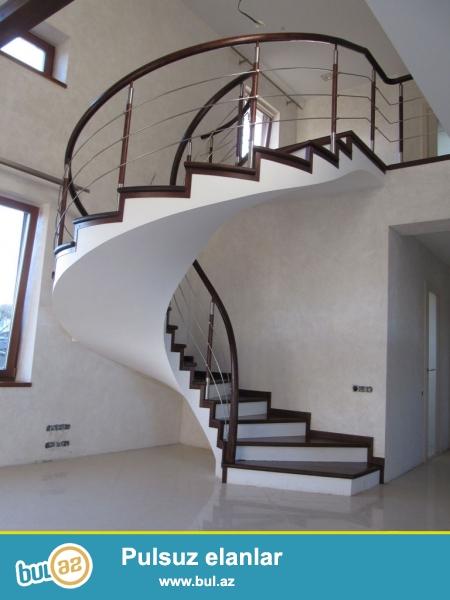 yüksek keyfiyyet və səliqe ile beton pillekanlarin hazirlanmasi isimize zemanet veririk...