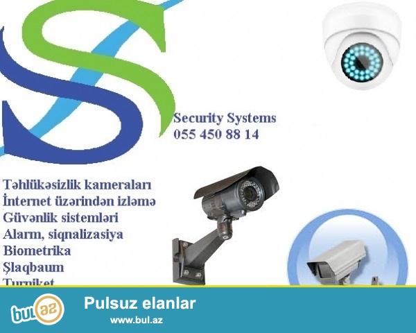 Nezaret kameralari – tehlukesizlik sistemleri<br /> <br /> Bu gun tehlukesizlik kameralarin (tehlukesizlik sistemlerin) qurasdirilmasi aktual meselelerden biridir...