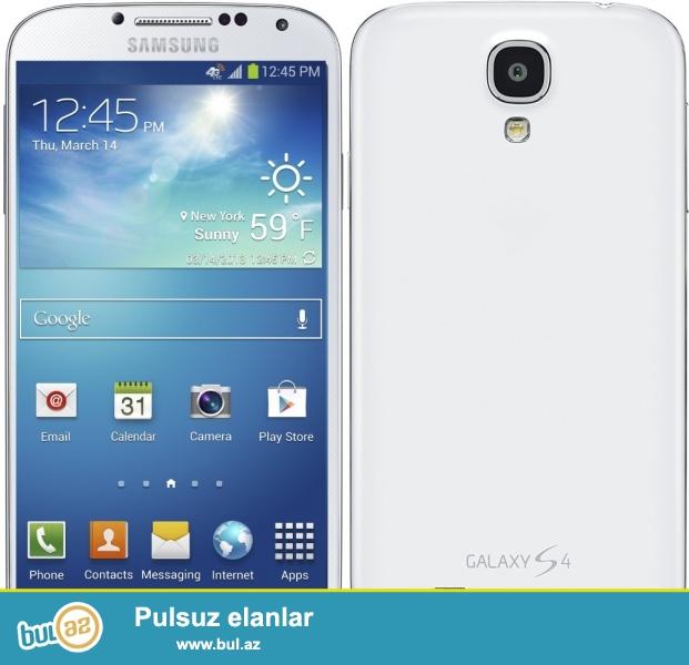 Samsung Galaxy S4 satiram . Xarici gorunushu yaxsidir...