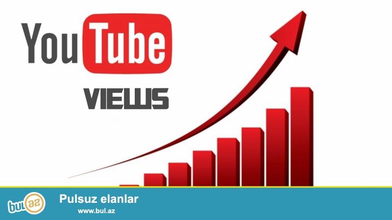 Youtube vasitəsilə pul qazanmaq üçün xidmətlər təklif edirik:<br /> 1...