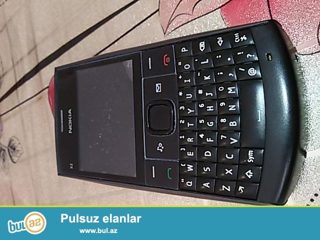 Nokia x2-01 satilir watsapp gedr hec bir problem yoxdur zaryatka ela saxlayir ancaq real alicilar elaqe saxlasinlar(whatshapp)