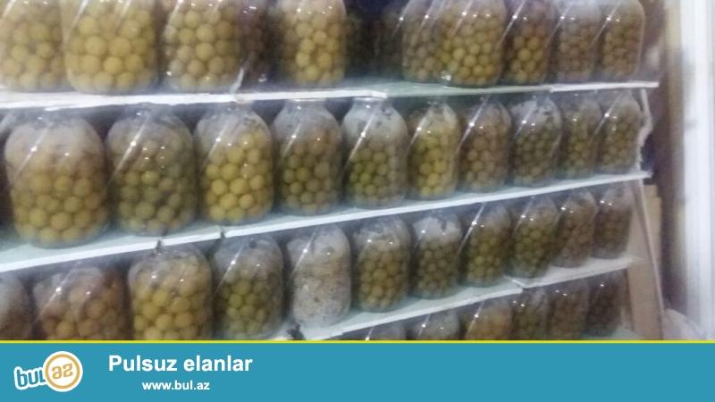 Qebelede  Bulaq suyu ile hazirlanmiw  3 kq Balonda  Alça Turşusu satilir ...