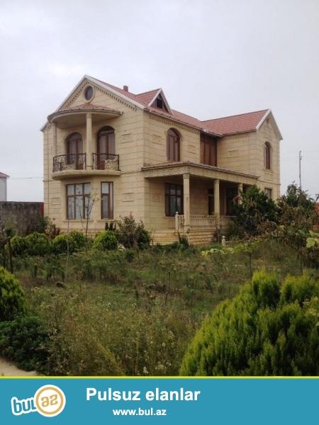 """Yeni Suraxanı  """"Buta Palace """" -ın yaninda 10 sotun içində tikilmiş 2 mərtəbəli  Villa..."""