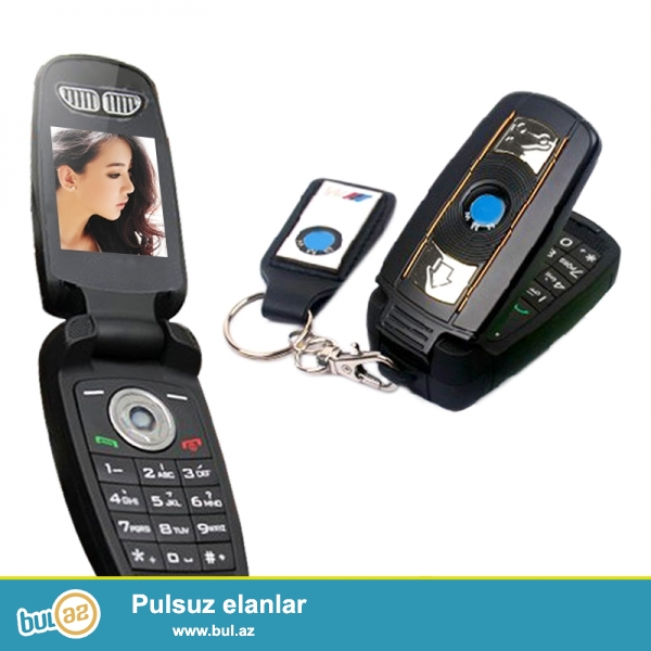 Yeni.Çatdırılma pulsuz<br /> BMW X6 pult dizaynli mini telefon Yeni<br /> <br />     Qeydiyyat olunub:Beli<br />     Ekran rengi:Rəngli<br />     Dizayn:Flip<br />     Şəbəkə:GSM<br />     Sim kart sayı:1 nömrə<br />     Kamera:Var<br />     Yaddaş:8Gb<br />     Digər funksiyalar:MP3 Player,Bluetooth,Video Player,Message<br />     Yaddaş kartı:Dəstəkləyir<br />     Batareya növü:Çıxarılabilən<br />     Yerində satış vəziyyəti:Yeni<br />     Batareya tutumu(mAh):800mAh<br />     Dillər:English,Russian,German,French,Spanish,Portuguese,Italian,Turkish,Arabic,Greek,myanmar,Thai,Persian,Vietnamese<br />     Ölçüsü:66*33*10mm<br />     Brand adı:Bmw<br />     Ekran ölçüsü:1...