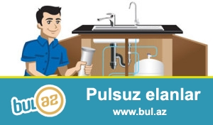 Su filtirlərinin satışı və servisi. Çatdırılma+quraşdırma 400 manat<br /> (055) 2756025, (070) 2624212