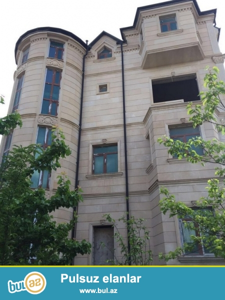 Срочно! Недалеко от м/с Несими в 6-м микрорайоне продается   частный дом - вилла , расположенная на  7-и  сотках, 4-этажа + мансард  общая площадь строения 1000 квадрат, 11 комнат, большая кухня, 6 сан узлов ...