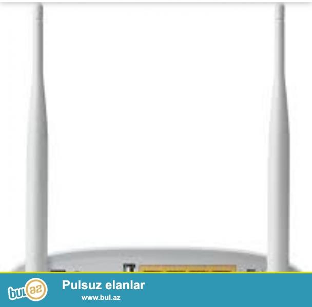 Tp-link modem 2 antenali 4 portlu<br /> Topdan satis qiymeti 41azn<br /> Tek tek satisi 47 azn