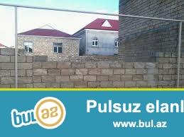 Sabuncu rayonu, Yeni   Ramana qəsəbəsi,49 nöm. avtobus yanından kecir,komsomol dairesine yaxın, telefon,qaz,su,işıq,kanalizasiya yanındadın kecir,
