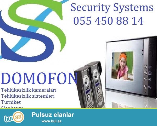 Domofonlar. Tehlukesizlik sistemleri<br /> <br /> SecuritySystems firmasi Size domofonlarin satish ve qurasdirilmasinin teklif edir...