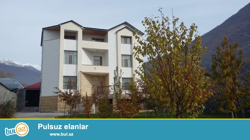 Villa is located on the road to tour the city of Sheki...