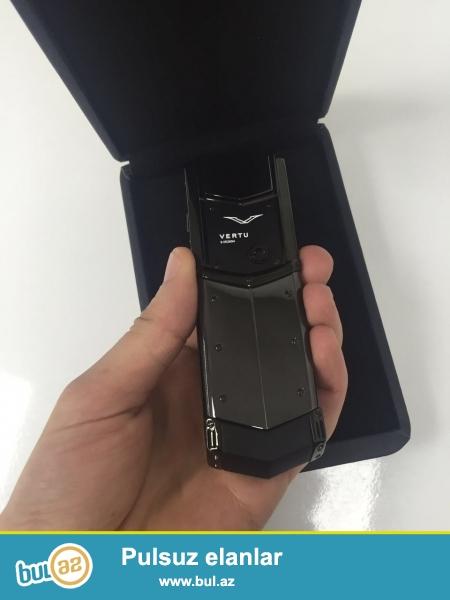 Salam Vertu Signature Ceramic telefonlari satilir. Telefonlar AAA klassdir 1:1 dir yeni originaldan sonra en yuksek keyfiyyete malikdir...