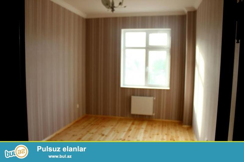 Həzi Aslanov metrosuna yaxın yeni tikilidə 3 otaqlı tam təmirli ev satılır...