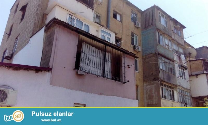 По проспекту Иншаачилар, по близости заправки «Азпетрол», в 5-ти этажном Экспериментальном  доме, средний блок,   на 5-ом этаже продаётся 1-на комнатная квартира с общей  площадью 38 кв...