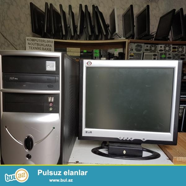 ofis iwleri ucun komputerler oyun ucun yaramir ancaq ofis iwleri ucun ve internet ucun prosessor monitor klaviatura ve maus verilir<br /> bawka sualariniz varsa elaqe saxlaya bilersiniz<br />