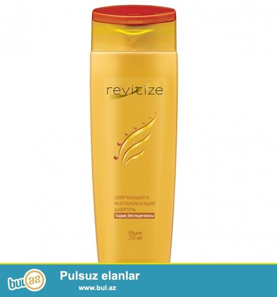 Revitiz şampununun tərkibində saçı yumşaq və ipək kimi hamar edən bitki ekstraktları toplanıb...
