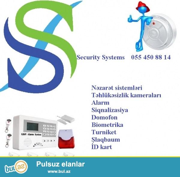 Alarm-siqnalizasiya sistemi<br /> <br /> Alarm-siqnalizasiya sistemi ister ev, isterse de sirket, muessise, erazi ucun uygun tehlukesizlik sistemidir...