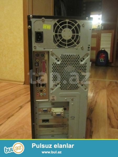 Asus firmasinin ana platasi 35 Azn tek ana plata<br /> Ram 1 gb- 15 Azn<br /> Hard Disk 250 GB-25 Azn<br /> Qida bloku 230 Watt- 15 Azn<br /> Dvd-Rw qara rengde 10 Azn<br /> Kuller -5 azn<br /> Keys 10 azn