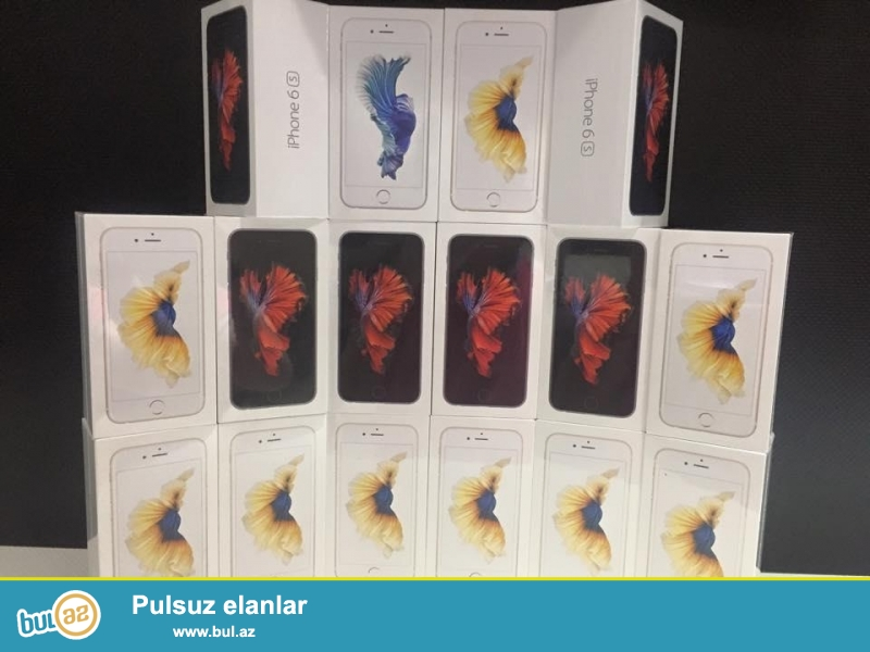 Iphone 6s Dubay varianti satiram, rengleri var, telefonlar 1:1 kopyadir, pakovkada yenidir...