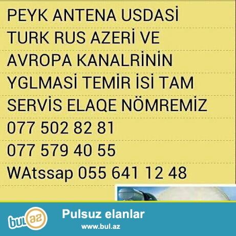 450 turk 20 rus 18 azeri kanallarinin yglmasi scatdirilibqurasdirilmasi negd satisi buyurun zeng edin