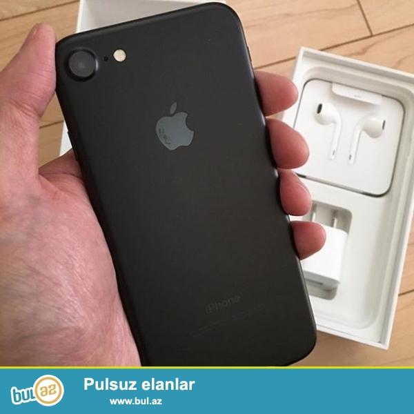 Iphone 7 Dubay varianti satilir, telefonlar qutuda yenidir, her rengi var...