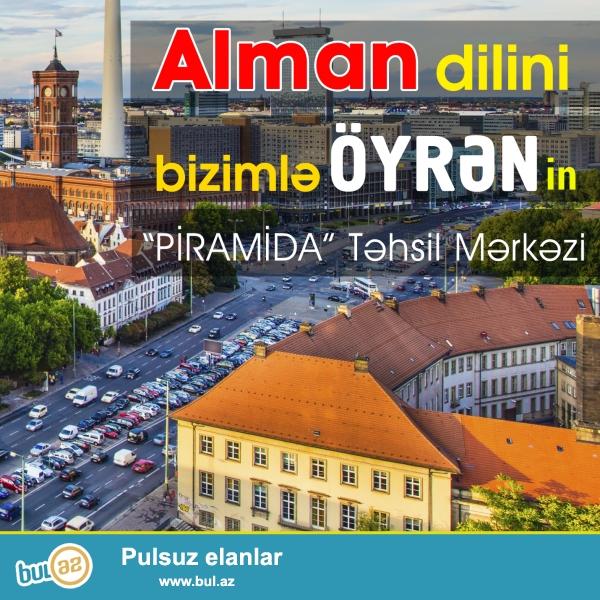 Piramida tədris mərkəzində ALMAN dili kursları...