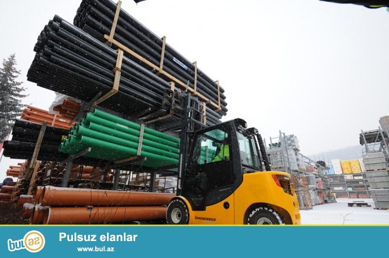 Avtokar Almaniya istehsalı Jungheinrich DFG 320,<br /> Model iki mastlı DFG 320ZT400,<br /> Yükgötürmə qabiliyyəti 2000 kq,<br /> Hündürlüyə qaldırma  4 m,<br /> Mastın yıgılmış halda hündürlüyü 2...