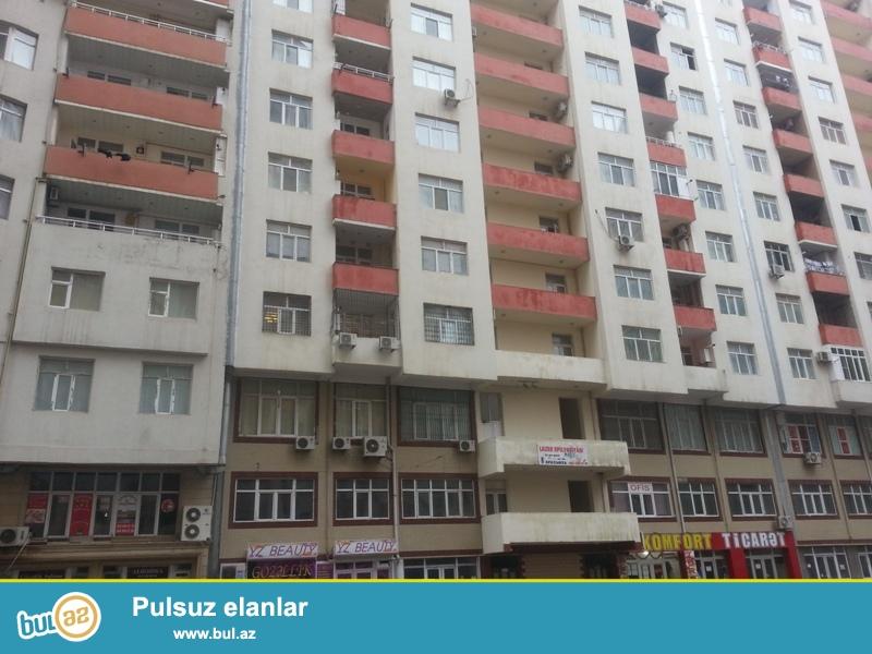 Nəsimi  rayonu, 3 mikrarayon  inşa edilmiş  17 mərtəbəli binanın 14 - ci mərtəbəsində, sahəsi 63 kv...