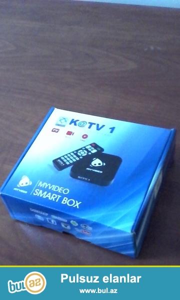 Salam! KATV1 Smart cihazı vasitesile 200 televiziya kanalı izleye bilersiz...