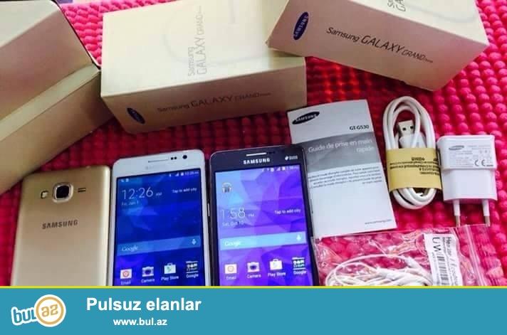 Samsung grand prime satiram tam yeni rengleri de var kohne qiymetle satiram resmi satis 329 manatdi.